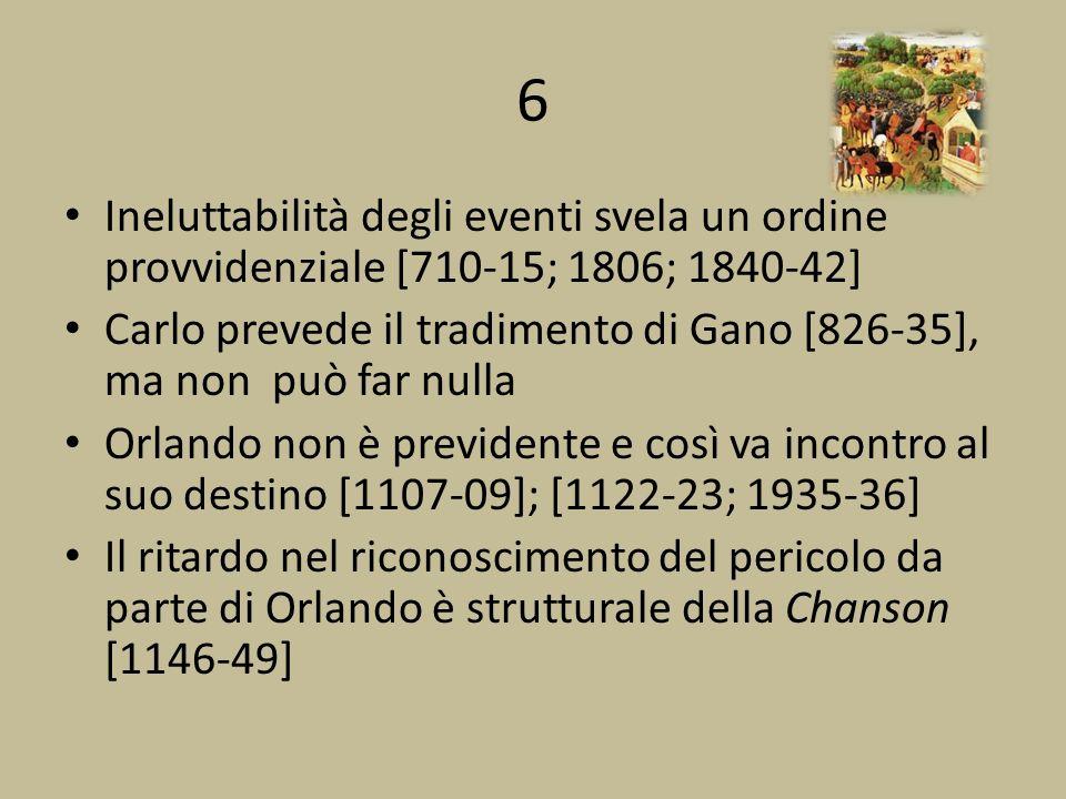 6 Ineluttabilità degli eventi svela un ordine provvidenziale [710-15; 1806; 1840-42]